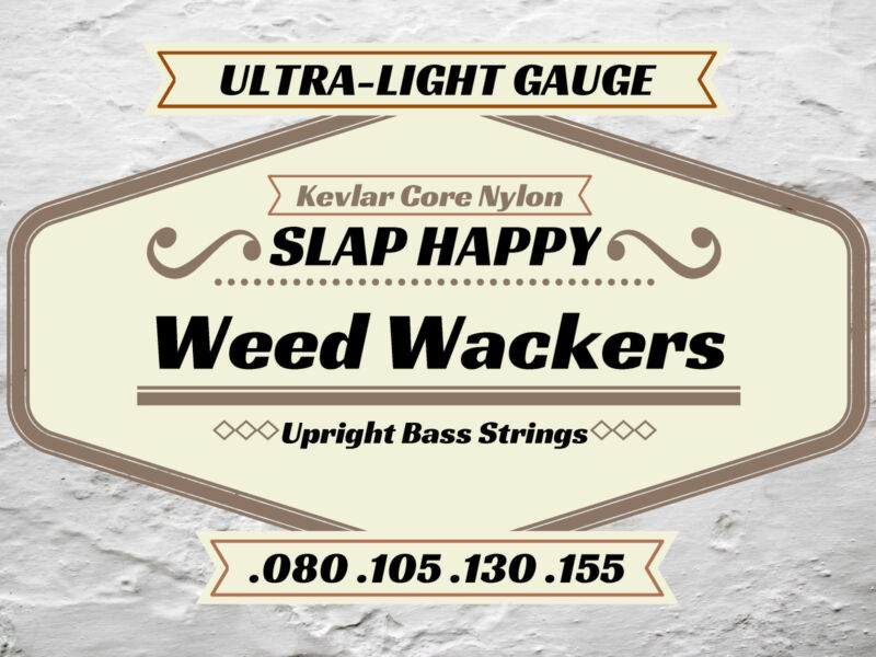 ~New ULTRA-LIGHT Upright Double BASS WEEDWACKER STRINGS