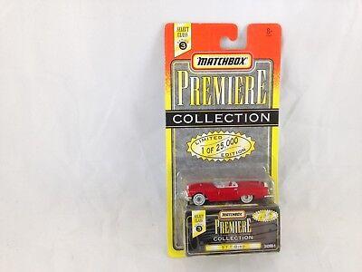 Matchbox World Class Series 3 Premiere Collection Red '57 T-Bird Red NIP -MOC