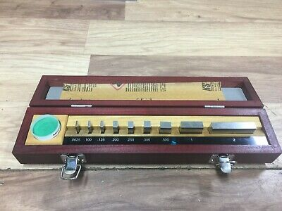 Nice Mitutoyo No 516 930 26 Gage Block Set Grade 0