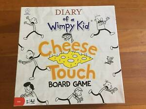 Diary of a Wimpy Kid – Cheese Touch Board Game. Brand New
