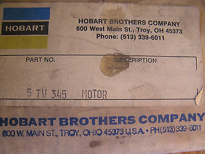 Hobart 5 Tw 345 Motor