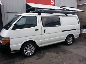 CAMPERVAN Toyota Hiace long wheel base. Fully Equipped. Port Macquarie Port Macquarie City Preview