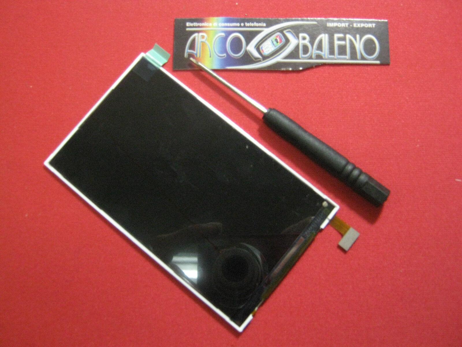 DISPLAY LCD MONITOR HUAWEI ASCEND G300 +GIRAVITE TORX T5 Nuovo Ricambio U8815