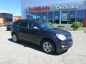 2015 Chevrolet Equinox 2LT AWD, HEATED LEATHER, NAVIGATION