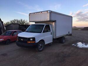 2009 Chevy cube van