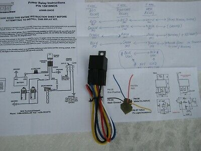 LQQK SALE! NOS/NX/ZEX/EDELBROCK/HOLLEY/ NITROUS SYSTEM POWER RELAY W/HARNESS NEW ()