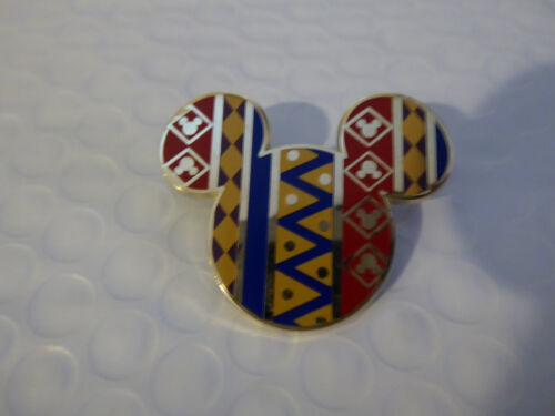 Disney Trading Pins 116509 Mickey Icon Pin - African Pattern