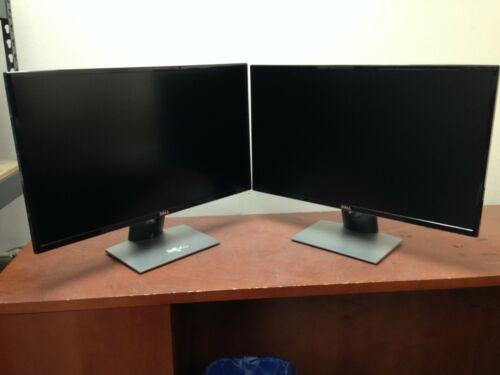 "Lot of 2 Dell SE2717Hr 27"" 1920x1080 Widescreen LCD Monitor 93JWK | C787DS"