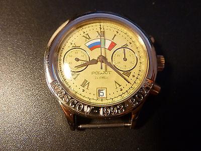 POLJOT Moscow Rome Watch Russia 3133 Chronograph Mechanical