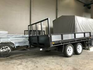 Table Top Tandem Trailer 10x6.6 Cardiff Lake Macquarie Area Preview