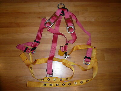 Sellstrom Full Body Safety Fall Climbing Harness 7400 Series 7435-ptd Rtc