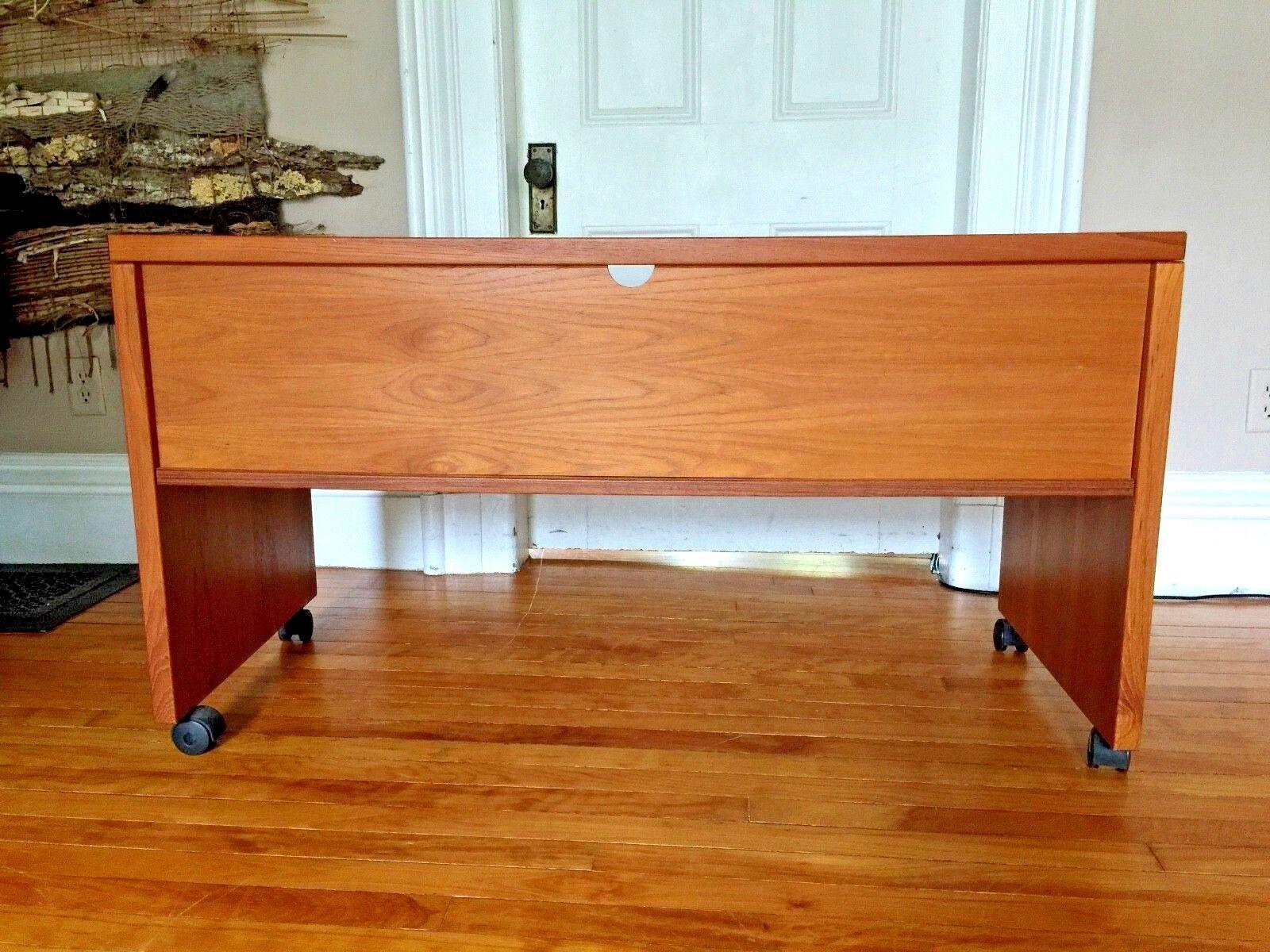 Vintage Denmark Teak Desk By JESPER - $449.99