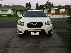 2010 Hyundai Santa Fe Long rego com with RWC. AUTO Glenroy Moreland Area Preview
