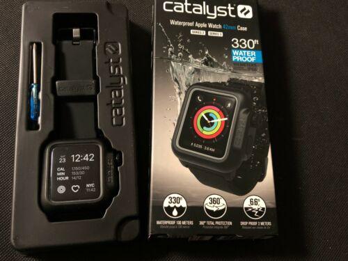 Catalyst Waterproof Case Apple Watch Sport Band Series 2/3 42mm Black