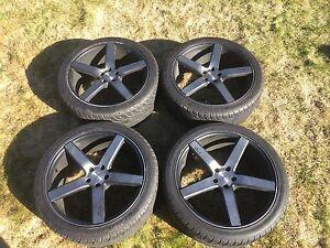 Niche rims on summer tires