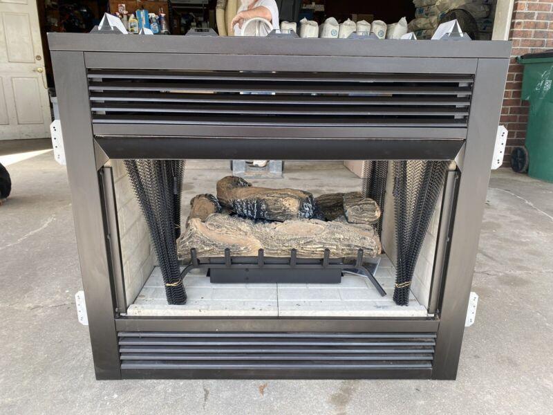 """FMI UVC-ST 36"""" See Thru Fireplace Vent Free"""