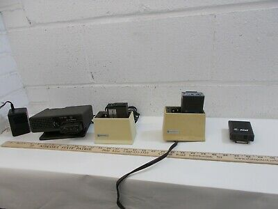 Vintage Collection of Motorola Voice Pager Fire Medical Minitor Spirit BPR2000
