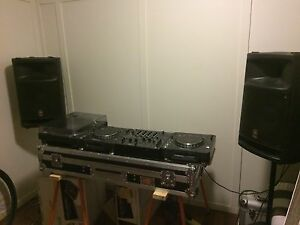 Technics, Pioneer dj set up Newtown Ipswich City Preview