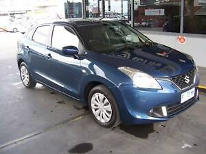 2016 Suzuki Baleno Hatchback Hobart CBD Hobart City Preview