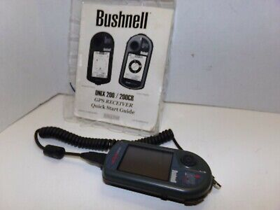 Bushnell Onix 200 CR Onix200CR GPS Navigation Receiver, Cord and Manual Bundle