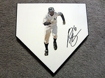 CURTIS GRANDERSON New York Yankees SIGNED Autographed Home Plate Base w/COA