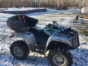 QUAD / ATV 2009 Silver 4x4 Artic Cat Thundercat 1000 cc