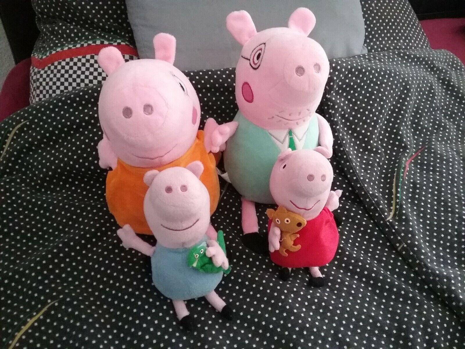 Peppa Wutz und Familie Plüsch