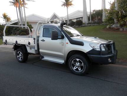 2012 Toyota Hilux SR 4x4 Single Cab Chassis Turbo Diesel Port Macquarie 2444 Port Macquarie City Preview
