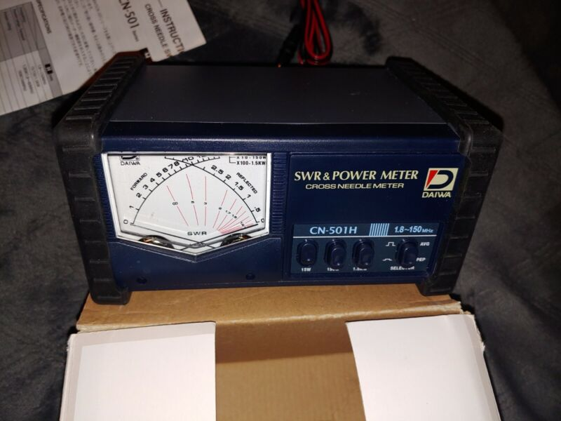 Daiwa CN-501H SWR & Power Meter 1.8-150 MHz up to 1500 Watts