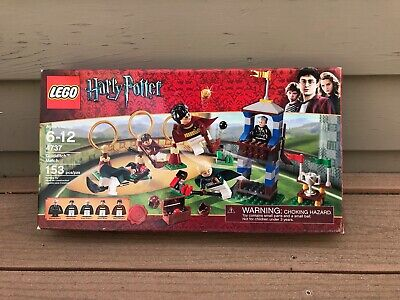 LEGO Harry Potter Quidditch Match #4737 100% COMPLETE With Box and Instructions