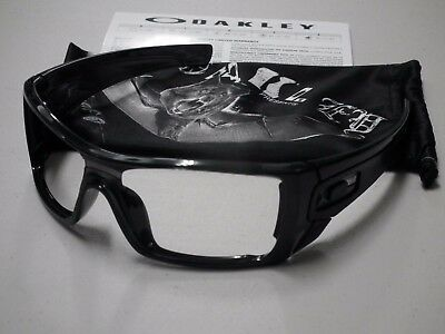 Authentic Oakley Batwolf Polished Black Sunglasses Frame & Bag Only