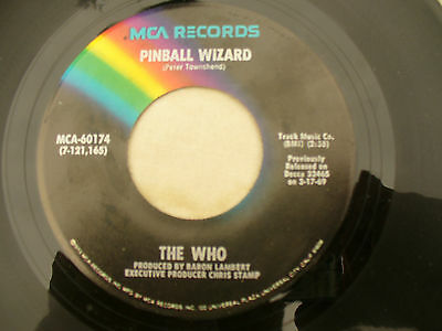 THE WHO PINBALL WIZARD / DOGS PART TWO usa mca 60174