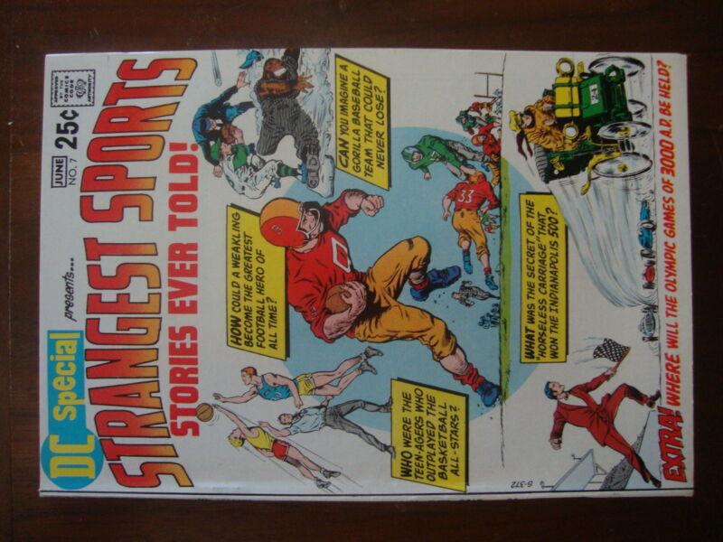 DC Special #7 VF Strangest Sports