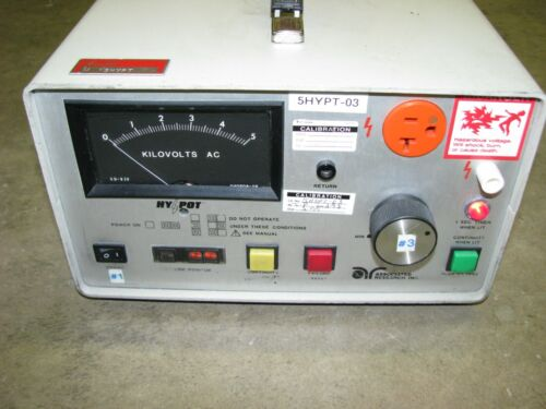 Associated Research AC Hypot and Ground Continuity Tester 4050AT