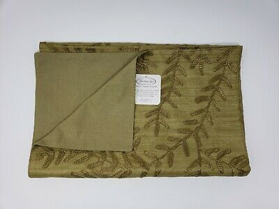 Heritage Lace Olive Willow Table Runner - 13