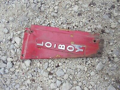 Farmall Cub Low Boy Tractor Good Original Ih Radiator Right Side Panel C Emblem