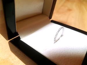 18k white gold diamond ring Melbourne CBD Melbourne City Preview