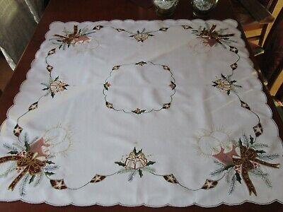 Tisch-decken- Mitteldecken-  mit Weihnachtsmotiven,  (Weihnachts-tischdecken)