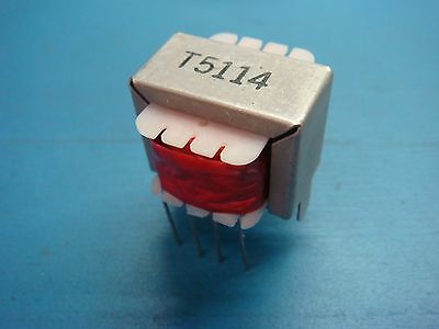 1 T5114 Transformer 10.5 Telecom 8 Terminal 6 Pin Actual Pcb Through Hole Dip