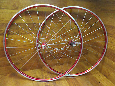1 Pair American Classic Bike Tubeless Valve Stem/&Core Anodized Red 46mm