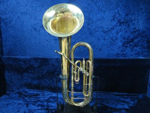 King 3 Valve Baritone Horn Ser#248149 Easy Player with Beautiful Sound!