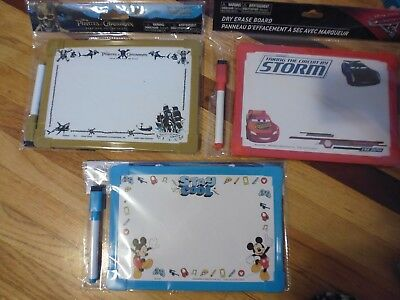Dry Erase Whiteboards For Kids 2 Sided Loop Marker Select Disney Marvel Dc Comic