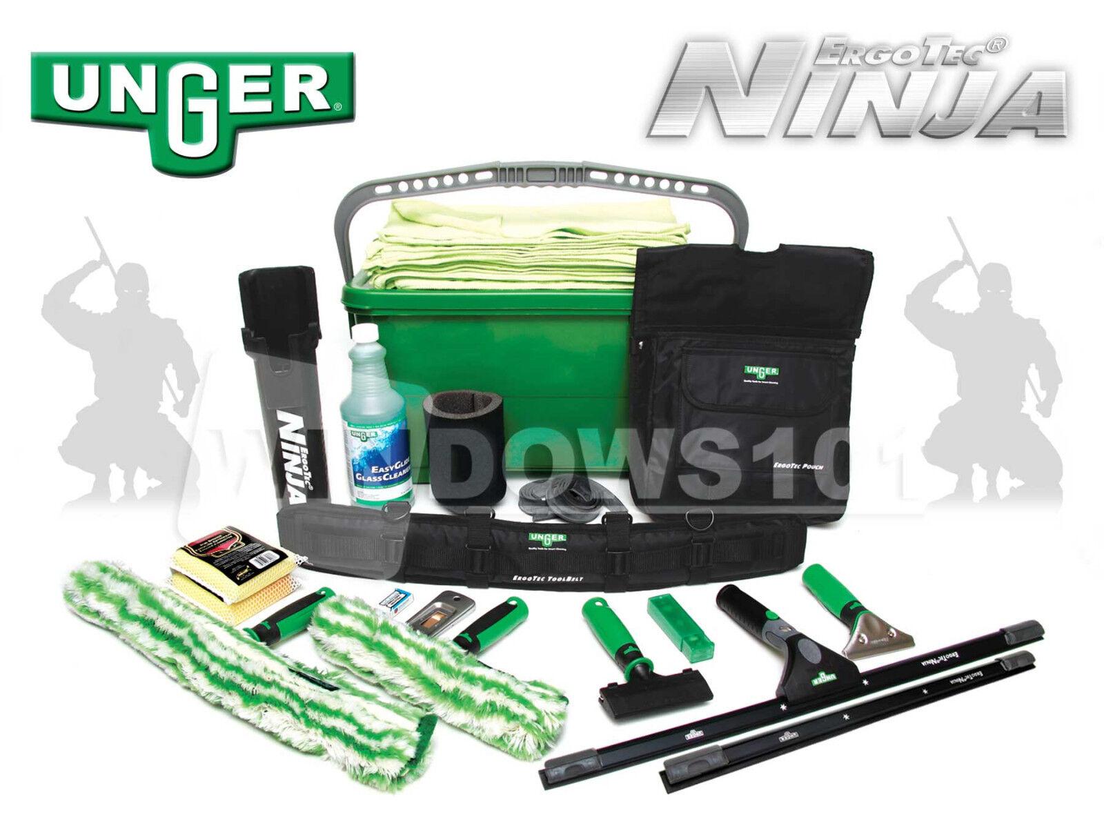 Unger Ninja Super Starter Window Cleaning Amp Washing Kit
