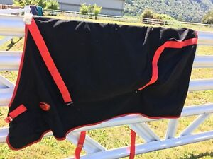 Weatherbeater black and red sheet