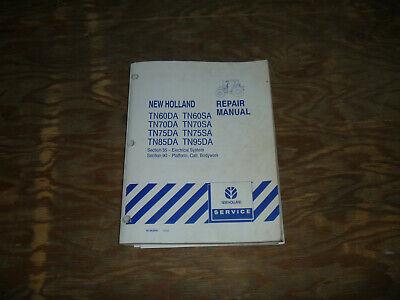 New Holland Tn75da Tn75sa Tn85da Tn95da Tractor Electrical Wiring Diagram Manual