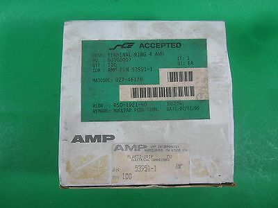 Amp Plasti-grip Electrical Connectors -- 53951-1 -- Lot Of 100 New