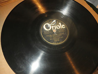 78RPM Oriole Will Osborne, Love in Bloom / Straight from Shoulder clean V V+ V