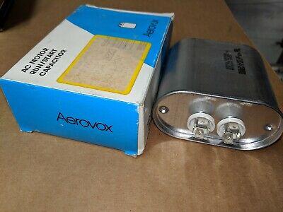 Aerovox 60uf 370vac Motor Run Capacitor Z62f3760m 5060hz Mrp210140 Sh9722