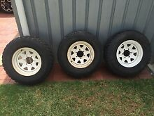 "3x235/75/15"" tyres and rims Murray Bridge Murray Bridge Area Preview"