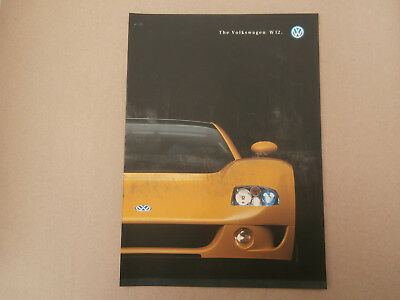 Volkswagan W12  brochure..  nr MINT condition.
